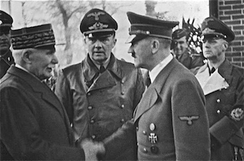 World War II Today: May 19 - Henri Petain and Adolf Hitler, 24 October 1940