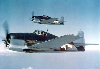 World War II Today: May 23 - US Navy Grumman F6F-3 Hellcats, May 1943