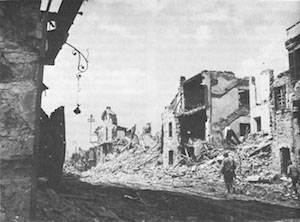 World War II Today: May 25 - US patrol moves through Cisterna, Italy, 25 May 1944