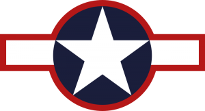 "World War II Today: June 29 - US Army Air Force insignia changed to ""stars and bars,"" with a red border around bar."