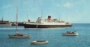 World War II Today: June 13 - Great Western Railway Steamer St. Patrick.
