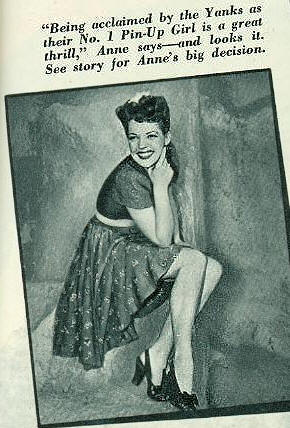 Anne Gwynne Number 1 Yank Magazine Pin Up 1943