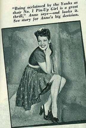 Anne Gwynne Number 1 Yank Magazine Pin Up 1943