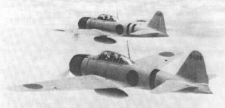World War II Today: June 5 - Two Japanese A6M2 Zero fighters en route to attack Nanzheng, China