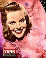 World War II Today: June 17 - Jane Randolph on the cover of the debut issue of Yank, the Army Weekly, June 17, 1942