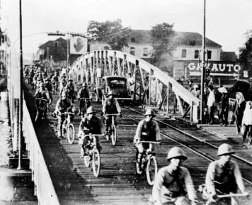 World War II Today: July 24 - US imposes a crude oil embargo on Japan. Nazis massacre Jewish population of Grodz, Lithuania. Japan begins to occupy northern French Indochina, enters Hanoi and Saigon.