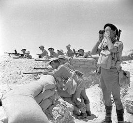 World War II Today: July 17 - British troops near El Alamein, Egypt, 17 Jul 1942