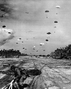 World War II Today: July 2 - Paratrooper Lands Noemfoor Island