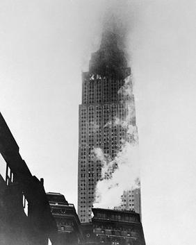 World War II Today: July 28 - B 25 Bomber Hits the Empire State Building