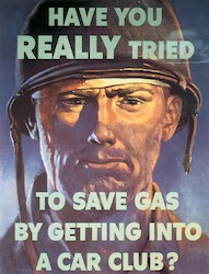 World War II Today: July 22 - Gas Rationing begins in the United States