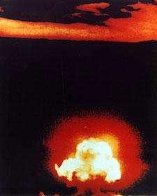 First Atomic Bomb Alamogordo