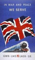World War II Today: August 27 - British railway poster, WWII