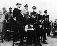 World War II Today: August 14 - Churchill - Roosevelt