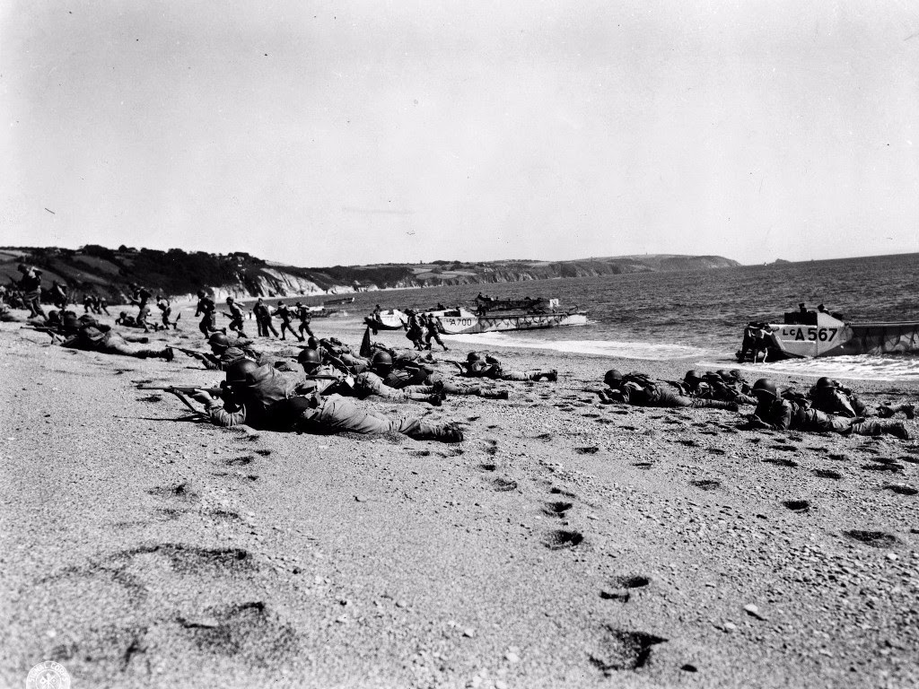 Exercise Tiger at Slapton Sands