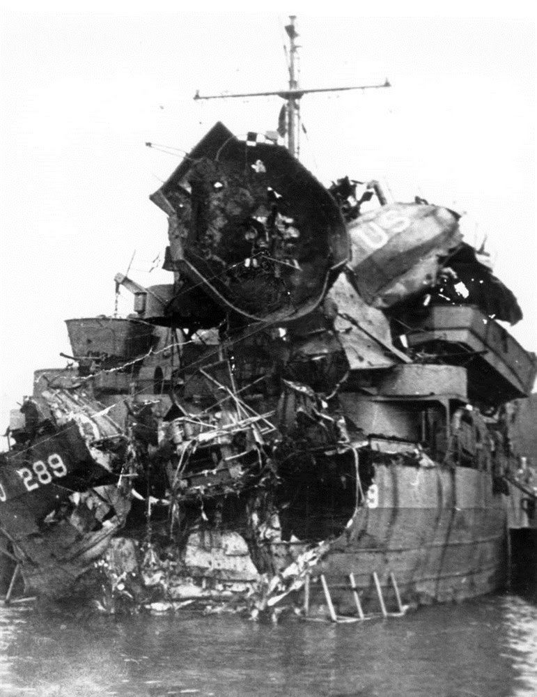 LST-289 destroyed during Exercise Tiger