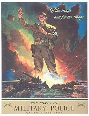 World War II Today: September 26 - US Army establishes Military Police Corps (MPs).