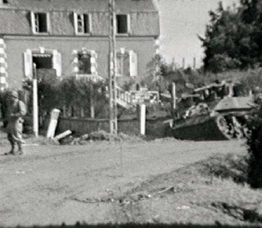 Dead Man's Corner - Saint Côme-du-Mont - June 7, 1944