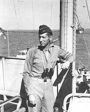 World War II Today: October 21 - Lt. Gen. Mark Clark aboard USS Ancon off Salerno, Italy, 12 Sept 1943