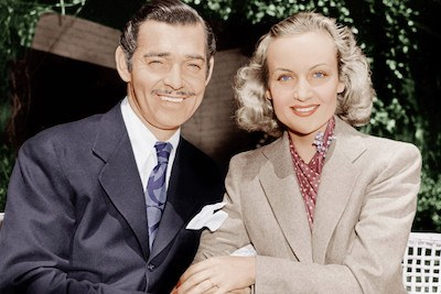 Clark Gable and his third wife, Carole Lombard