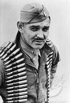 Clark Gable - WWII B-17 Aerial Gunner - LT Clark Gable