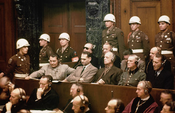World War II Today: October 18 - Defendants At Nuremberg Trials
