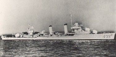 World War II Today: October 17 - Destroyer USS Kearny