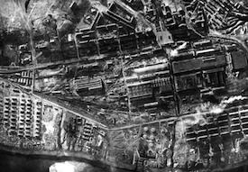 World War II Today: October 4 - Stalingrad Tractor Factory after German capture, Stalingrad, Russia, 17 Oct 1942 (German Federal Archive: Bild 183-B22437)