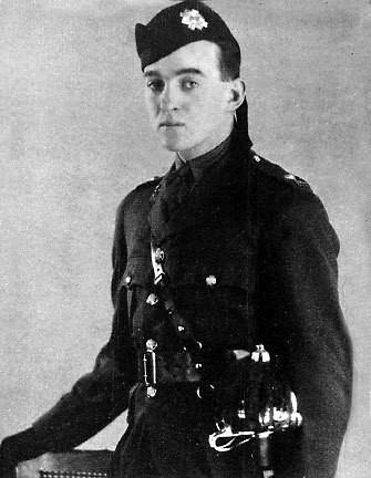 Niven in the Highland Light Infantry around 1930
