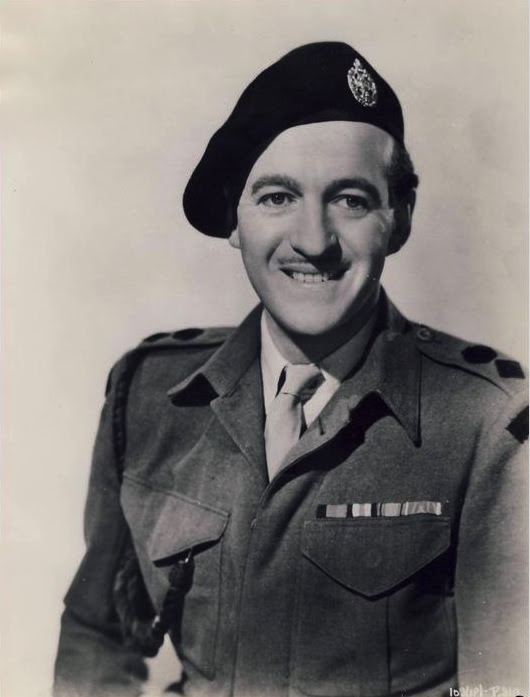 Niven in uniform