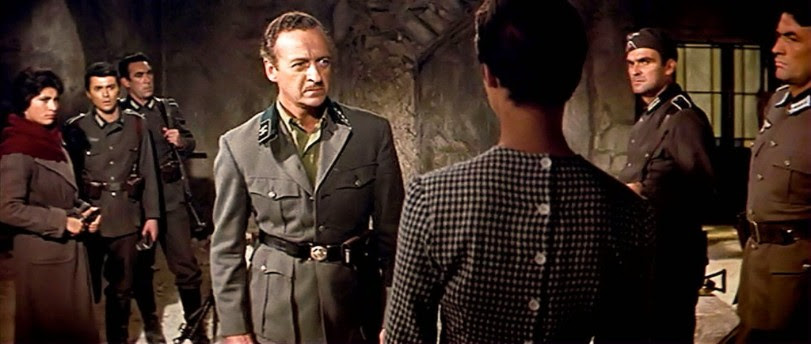 Niven in The Guns of Navarone